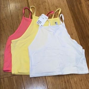 H&M Crop Tank-top Bundle 3pack